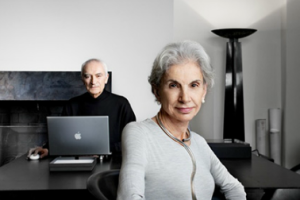 A dynamic create team, Massimo and Lella Vignelli