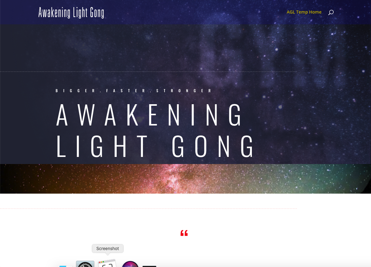Awakening Light Gong