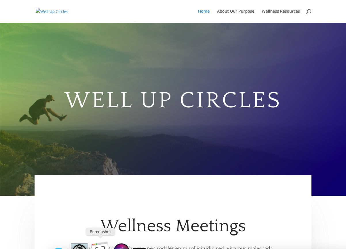 Well Up Circles